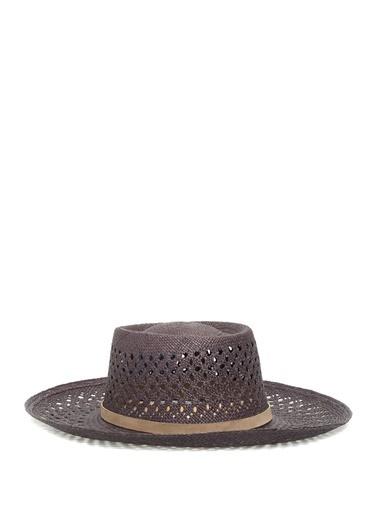 Ecua-Andino Panama Şapka Siyah
